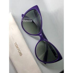 TOM FORD 'Anastasia'  Cat Eye sunglasses - Purple